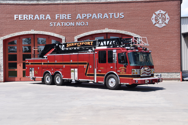 Ferrara Inferno Rear-Mount 109-Foot Aerial