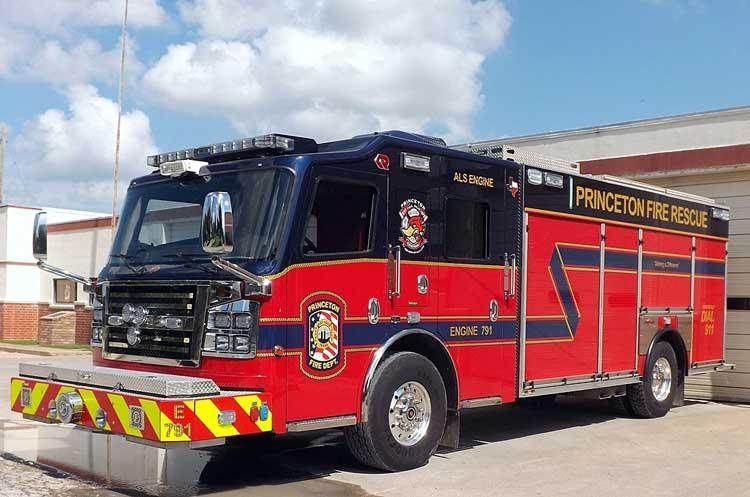 Princeton (TX) Fire Rescue 2015 Rosenbauer Commander Rescue-Pumper
