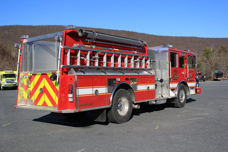 Traditional Vs. Flat Fire Apparatus Rears