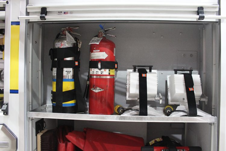 Equipment Mounting for Cleanliness and Upkeep