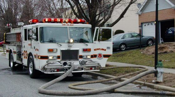 Front Suction Hookup from a Hydrant to a Fire Truck