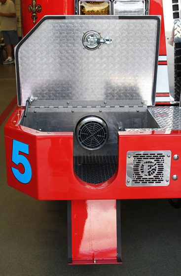 Front Suction Options for Fire Apparatus