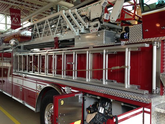 Tractor-Drawn Aerial Ladder Complements and Configurations